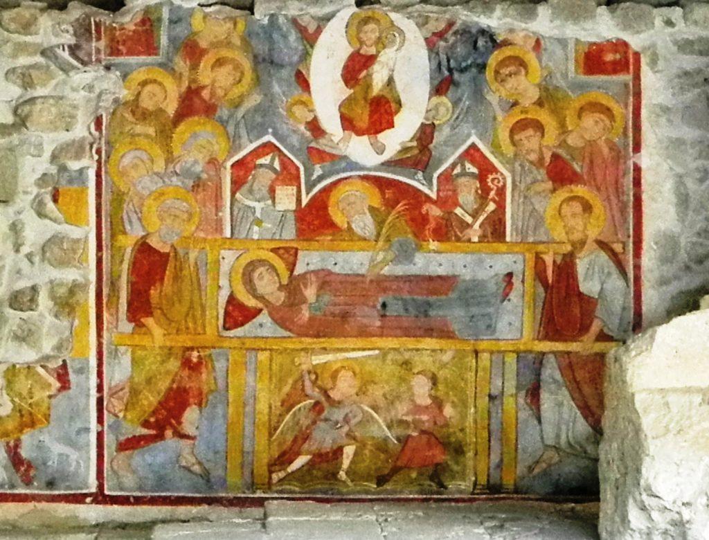 Acaya le Dormitio Virginis Mariae sec XII-XIII